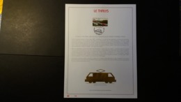 Belgique 1998 : FEUILLET D'ART EN OR 23 CARATS.Timbre Numéro 2735 - Belgique