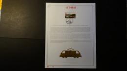 Belgique 1998 : FEUILLET D'ART EN OR 23 CARATS.Timbre Numéro 2735 - Belgium