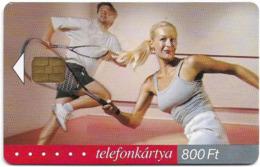 Hungary - Matáv - ISDN2001, Tennis - 11.2001, 50.000ex, Used - Hongrie