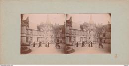 PHOTO STEREO 1902 CHATEAU DE ST AIGNAN SUR LE CHER RENAISSANCE - Stereo-Photographie