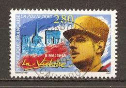 1995 - 8 Mai 1945 - La Victoire - Général De Gaulle - N°2944 - Gebraucht