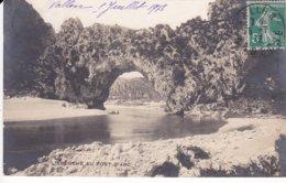 L120C_56 - Vallon-Pont-d'Arc - L'Ardèche Au Pont D'Arc - Carte Photo - Vallon Pont D'Arc