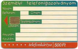 Hungary - Matáv - Kölyök Kártya - 04.2001, 50.000ex, Used - Hongrie