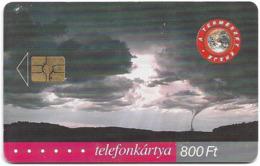 Hungary - Matáv - Természet Ereje Tornádó - 11.2001, 50.000ex, Used - Hongrie