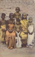 ADEN - GROUP OF SOMALI WOMEN. YEMEN. POSTALE CPA CIRCULEE 1914 A BUDAPEST -LILHU - Yemen