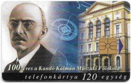 Hungary - Matáv - Kandó Kálmán - 10.1998, 50.000ex, Used - Hongrie