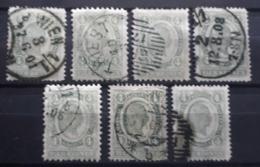 Kaiserreich 1899,  Partie 4 Kronen,  Gestempelt - 1850-1918 Empire