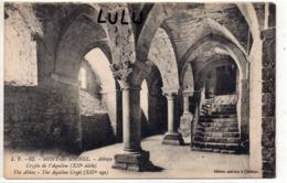 DEPT 50 : édit. J Puel N° 62 : Le Mont Saint Michel L Abbaye Crypte De L Aiquilon - Le Mont Saint Michel
