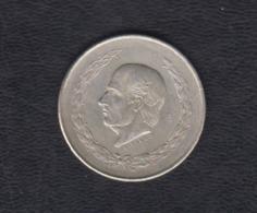 MÉXICO. AÑO 1952.  5 PESOS PLATA. PESO 27,8 GR - México