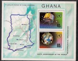 Ghana - 1973 - Bloc Feuillet BF N°Yv. 50 - Météo - Neuf Luxe ** / MNH / Postfrisch - Klima & Meteorologie