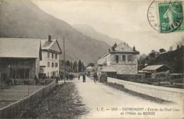 ENTREMONT-entrée Du Chef -lieu Et L'hôtel Du Borne - Frankrijk