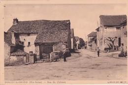 PERCEY LE GRAND        RUE DU CHATEAU - Francia