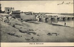 Cp Deir Ez-Zor Syrien, Pont, Chevaux - Syrien