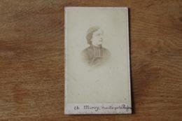Cdv Guerre De 1870 1871  Second Empire Prêtre Miroy  Fusillé Par Le S Prussiens à Reims - Ancianas (antes De 1900)