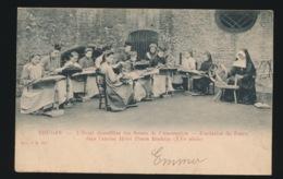 BRUGGE  A.SUGG 162 = L'ECOLE DENTELLIERE DES SOEURS DE L'ASSOMPTION - FONDATION DE FOERE DANS L'ANCIEN HOTEL PIERRE BLAD - Brugge
