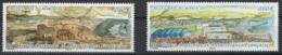 T.A.A.F. 2011 N° Y&T 599/600 **, MNH, Fraîcheur Postale. Cote Y&T 2017 : 4,20 € - Ongebruikt