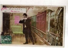 42 Mille Baisers De ROANNE, Quai De Gare, Train - Roanne