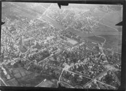 02- Photo Militaire Aérienne Authentique SOISSONS  (18x13cm) RARE - Soissons