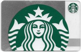 Cyprus Starbucks Giftcard - Silver Sparkle Siren (2018) - Cn.6163, Unused - Gift Cards