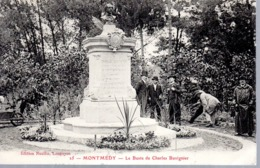 MONTMEDY  -  Le Buste De Charles Buvignier  -  Animation  -  N°25 - Montmedy