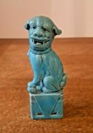 Ancienne Statuette - Chien De Fô Foo - Porcelaine De Chine, China, 富狗 中國瓷器 - Arte Asiatica