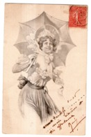 A.S.W. SERIE A SÜSSE MÄDEL  FEMME , OMBRELLE - 1900-1949