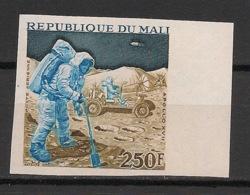 Mali - 1973 - PA N°Yv. 176 - Apollo XVII - Non Dentelé / Imperf. - Neuf Luxe ** / MNH / Postfrisch - Afrique