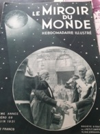 MIROIR 31/DOUMER/SAINT NAZAIRE ST PHILBERT /MARIEMONT/EXPO BALI /ROUMANIE /MAROC MANOEUVRES NAVALES - Livres, BD, Revues