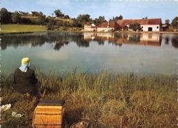 58 - Chitry-les-Mines - Le Bassin Du Canal - Une Belle Partie De Pêche - Other Municipalities
