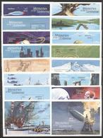 Maldives 1992 - MNH - Folklore / Fables, Pyramid, Space, UFO, Zeppelin (255421) - Raumfahrt