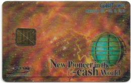 South Korea - IC Korea - Cebit 2001 Hannover Expo Demo 3D Card #3(Chip) - Corée Du Sud