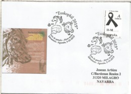 SALVATIERRA ALAVA  CC CON MAT EUSKOPHIL GANADERIA QUESO VACA COW CABALLO HORSE CHEESE - Vacas