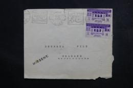 """EGYPTE - Enveloppe Du Caire Pour La France En 1936, Cachet De """"  U.S Ger, Sea Post S.S. Manhattan """" Au Verso - L 46699 - Lettres & Documents"""