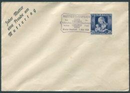 ÖSTERREICH / Kuvert Mit ANK 627 Und Sonderstempel Muttertagsfeier Vom 07.05.1936 / Nicht Gelaufen - Briefe U. Dokumente
