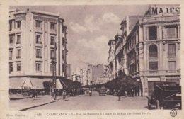 MAROC CASABLANCA - L'Hôtel Majectic Rue De Marseille - à L'angle De La Rue Des Ouled Harriz - Casablanca
