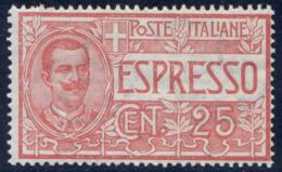 1903 ESPRESSO N.1 NUOVO** GOMMA INTEGRA - MNH VERY FINE - POSTFRISCH - 1900-44 Victor Emmanuel III.