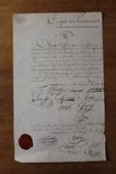 Corps Des Pontonniers AN 9 Strasbourg  Certificat Militaire  Autographes - Documents Historiques