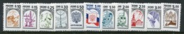 RUSSIA 1998 Definitive: Symbols On Chalky Paper, MNH / **  .   Michel 628-38v - Ungebraucht
