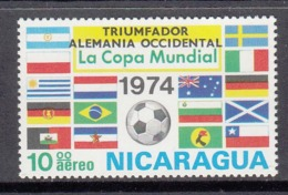 Nicaragua MNH Michel Nr 1799 From 1974 / Catw 3.00 EUR - Nicaragua