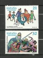 ESPAÑA 1997 EDIFIL 3486/87 ** MNH - 1931-Hoy: 2ª República - ... Juan Carlos I