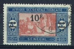 Senegal (French Colony), 10f./5f., African Market, 1924, VFU - Used Stamps