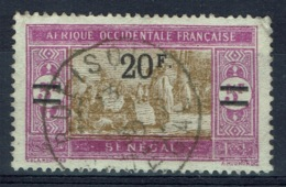 Senegal (French Colony), 20f./5f., African Market, 1924, VFU - Used Stamps