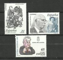 ESPAÑA 1997 EDIFIL 3483/85 ** MNH - 1931-Hoy: 2ª República - ... Juan Carlos I