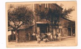 FR-3992   PORT SAINT-LOUIS-du-RHONE : La Rue Pasteur - La Bar Tabacs - Arles