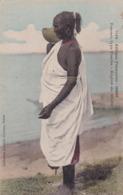 AFRIQUE FRANÇAISE - SOUDAN. FEMME, TYPE FOULBE - REGION DU CHEBO. POSTALE CPA CIRCA 1910's NON CIRCULEE -LILHU - Sudan