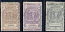 """1923 """"CAMICIE NERE"""" N.147/149 NUOVI* BEN CENTRATI - MLH VERY FINE - Nuovi"""