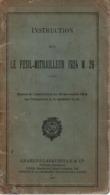 INSTRUCTION SUR LE FUSIL-MITRAILLEUR 1924 M 29 FM 24-29  1938 - 1939-45