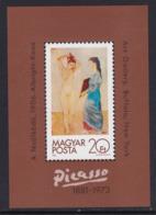 """BLOC NEUF DE HONGRIE - """"LA TOILETTE"""", DE PABLO PICASSO (CENTENAIRE DE SA NAISSANCE) N° Y&T 157 - Picasso"""