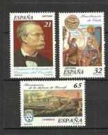 ESPAÑA 1997 Edi:ES 3498/3500 ** MNH - 1931-Hoy: 2ª República - ... Juan Carlos I