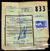 Vrachtbrief Met Stempel Wijnegem C - Railway